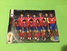 Panini FIFA WORLD CUP KOREA JAPAN 2002 - 4 trading cards : TEAM KOREA