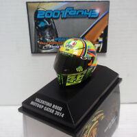 CASCO HELMET ROSSI MOTO GP QATAR 2014 1/8 MINICHAMPS
