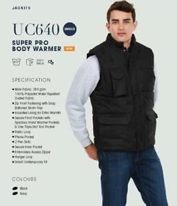Personalised Workwear Body Warmer Includes your FULL COLOUR Company logo