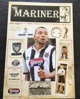GRIMSBY TOWN V SUNDERLAND FRIENDLY 2014/15. Mint