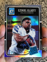🔥2016 Donruss Optic Ezekiel Elliott Holo Rated Rookie Lot Cowboys 🔥