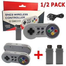 2.4G Kabellos Wireless Controller Gamepad Für Super Nintendo SNES Mini Konsole