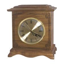 Wood Cremation Urn (Wooden Urns) - Walnut Renaissance Clock