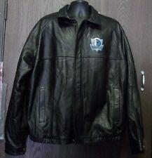 G-III Carl Banks NBA Dallas Mavericks Leather Jacket  Vintage Size XXL G-3 2XL