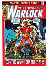 THE POWER OF WARLOCK #2 - 1972 Marvel - Roy Thomas & John Buscema - Very Fine