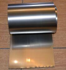 Grade 1 Titanium Foil Big Roll 394 Inch Sheet Plate Titane Thickness 012m