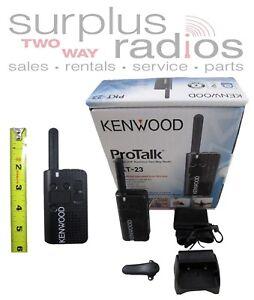 KENWOOD PROTALK LT PKT-23 UHF 4CH 1.5W BUSINESS RETAIL RADIO ULTRA LIGHTWEIGHT