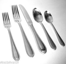 Wedgwood Knightsbridge 5 Piece Place Setting Stainless Flatware New In Box