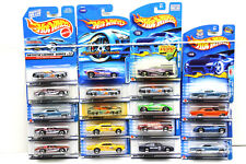 19 pc Hot Wheels Buick Plymouth Olds Die Cast Car Lot 1997 - 2002 Mattel NOC