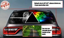 Rear Window Tint Perforated Decals Stickers Printed Vinyl Car Auto