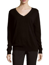 V787 NWT VINCE 100% CASHMERE V NECK WOMEN SWEATER SIZE XS in B $320