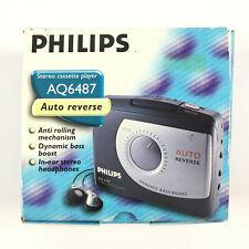 Philips AQ6487 / Walkman Cassette Player Vintage Baladeur Lecteur K7 AQ 6487