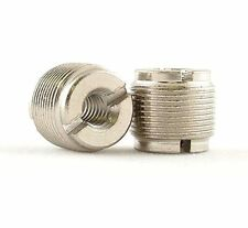 """2 x WINDTECH male 1/4""""-20 to standard microphone thread. 1/4""""-20 female to 5/8""""-"""