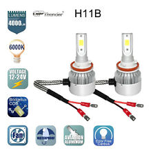 GP Thunder Cree LED Headlight Kit H11B 6000K Low Beam Fog Bulb HID White