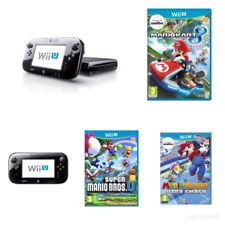 Wii U 32 GB Black Console + 3 MARIO GAMES BUNDLE (PERFECT GIFT) FAST & FREE POST