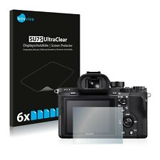 6x Film Protection écran pour Sony Alpha 7S II Protecteur