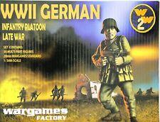 Wargames Factory W2001: 28mm WWII German Infantry Platoon Late War (30 Figures)