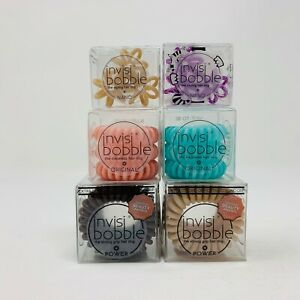 Selection of Invisibobble Original/Power/Nano Hair Ties - You choose!