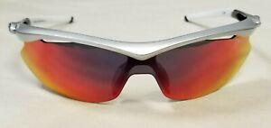 Tifosi Slip, Silver/White, Smoke Red Lenses - Limited Edition# 114