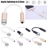 Headphone Jack to 3.5mm Audio Jack Converter Adapter Cord Dongle for iPhone IOS