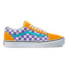 42d57a8ec8 New Vans Old Skool Thermochrome Checker Purple Magenta Yellow Sneakers 2019