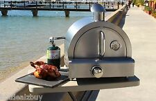 Stainless Steel Portable Propane Gas Pizza Oven Bake Outdoor Camping Park Picnic