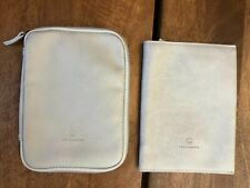 This Is Ground American Airlines First Class Leather Amenity Kit Empty Set IVORY