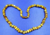 alte Halskette Butterscotch Bernstein Amber 44g
