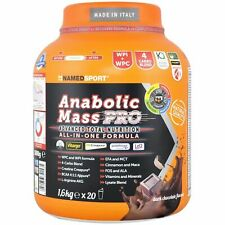 Named Sport Anabolic Mass Pro 1,6 kg Mass gainer Avanzato Completo