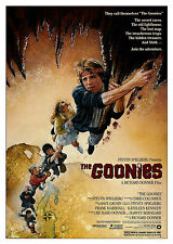 The Goonies (1985) - A2 A3 A4 POSTER ***RETOUCHED AND RESTORED***
