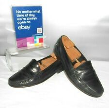 Men's Cole Haan Black Leather Dress Fashion Loafers Size 9 D
