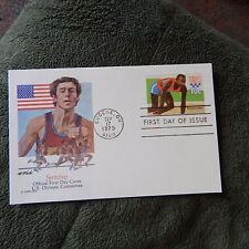 Estate Find FDC PREPRINTED POSTCARD, OLYMPICS 1980 - SPRINTING, 10 CENT