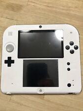 Nintendo 2DS Custom Color Handheld Gaming System White Black Blue