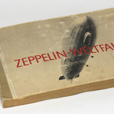 German Zeppelin Album w/264 photos Blimp Airship Graf LZ 127 Book Japan Moscow
