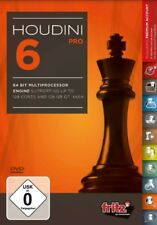 Houdini 6 Chess Playing Software Program - PROFESSIONAL EDITION Chess Software