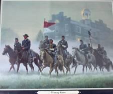 """""""Morning Riders"""" by Mort Kunstler Civil War"""