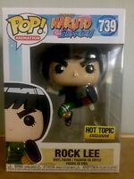 Funko Pop Rock Lee 739 Hot Topic Exclusive Naruto Shippuden Immaculate Rare W/PP