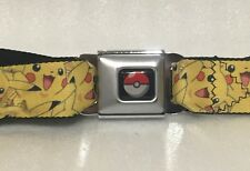 Seat Belt Buckle for Pants Men Women Kids Pokemon Gengar Haunter WPK173