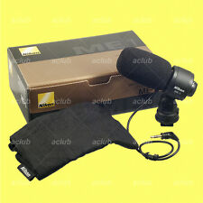 Genuine Nikon ME-1 Stereo Microphone D5 D4 D810 D800 D750 D500 D7200 D5600 D3300