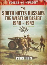 SOUTH NOTTS HUSSARS WW2 Artillery Unit North Africa NEW Second World War History