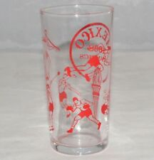 1968 Olympic Games Mexico Original Vintage GLASS TUMBLER MEXICO 1986 Olympics