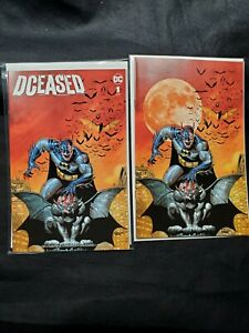 DCEASED #1 Planet Awesome Collectibles Sajad Shah Trade and Virgin Variant
