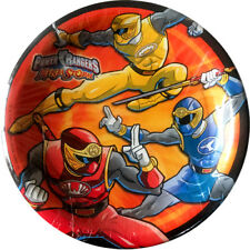 POWER RANGERS Ninja Storm SMALL PAPER PLATES (8) ~ Birthday Party Supplies Cake
