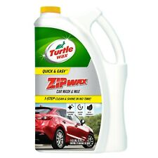 TURTLE WAX ZIP CAR WASH CARE FORMULA No Streak Safe Vehicle Soap Cleaner 1 Gal