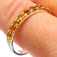 Citrine 925 Sterling Silver Ring Size 11 Ana Co Jewelry R29082F