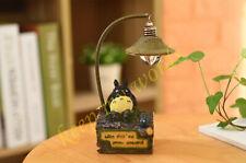 New anime Movie Totoro Cartoon Desk Lamp Night Light Lantern Fan Gift Collection
