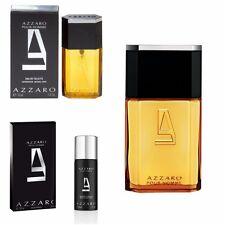 Azzaro Pour Homme 1 /3.4 Oz 30/100/200ml Eau de Toilette Spary Deodorant Perfume