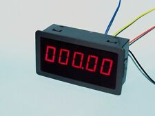 Frequency Counter &  Tachometer 99999r/m Rotate Speed tester Meter dc 12v 24v