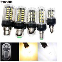 LED Corn Light Bulb 24W 15W 12W 9W 7030 SMD E26 E27 E12 E14 B22 White Lamp RD204