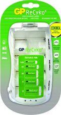 Cargador Universal GP ReCyko+ para todo tipo de pilas -nueva generación